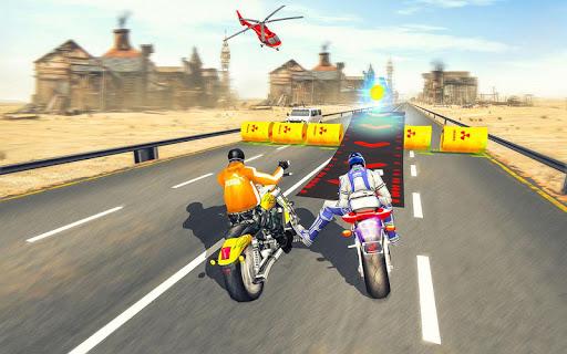 Bike Attack Race : Highway Tricky Stunt Rider 5.1.03 screenshots 6