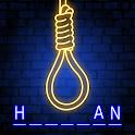 Hangman Glow Free Word Game icon