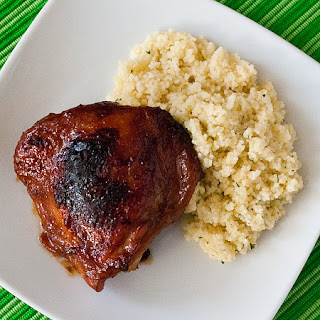 Honey and Soy Baked Chicken Thighs Recipe