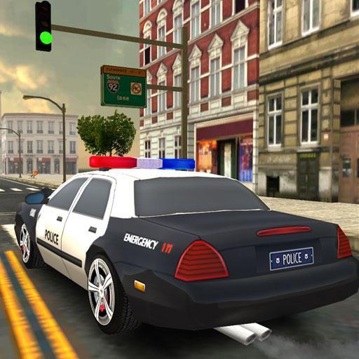 Furious Police Car Driving Simulator