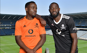 Orlando Pirates players unveil the club's new kit for the 2020-21 season.