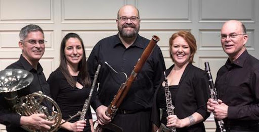 Con Vivo woodwind quintet plays a FREE outdoor concert tonight on Madison's west side