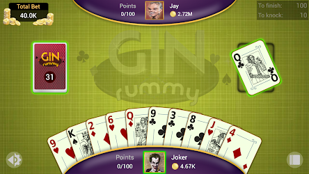 Gin Rummy – Offline APK Download – Free Card GAME for Android 6