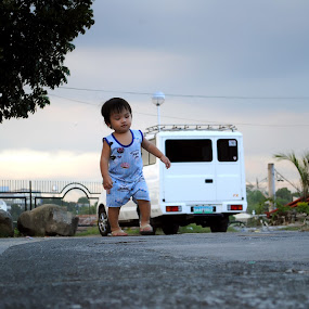 The Walking Child by John Alfred Cruz - Babies & Children Children Candids