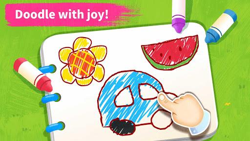 Baby Panda's Art Classroom: Music & Drawing 8.39.11.00 12