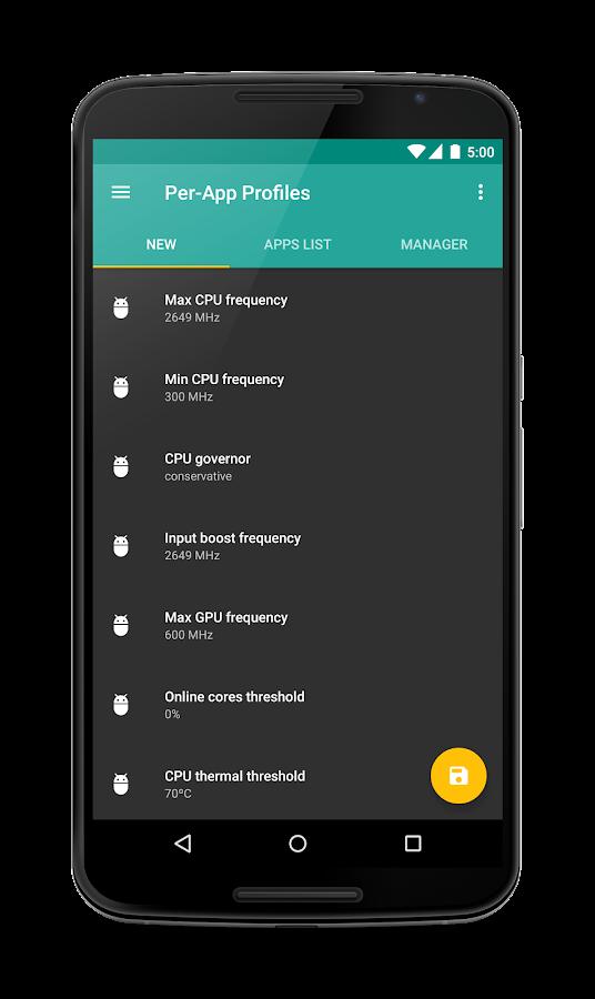 franco.Kernel updater - screenshot