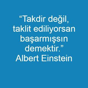 Albert Einstein Sözleri for PC-Windows 7,8,10 and Mac apk screenshot 1