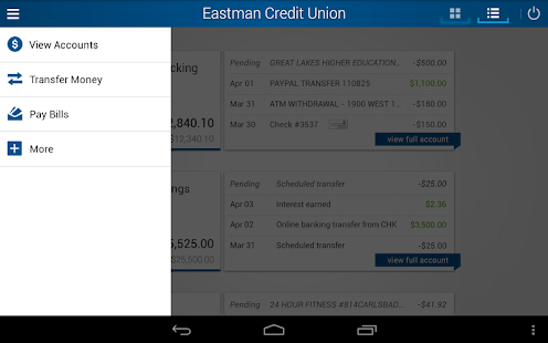 Eastman Credit Union Mobile- screenshot thumbnail