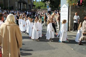Photo: Fejring af Hildegard - procession