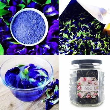 藍天花茶 (Blue Pea FlowerTea)