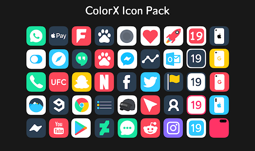 ColorX Icon Pack for PC / Windows 7, 8, 10 / MAC Free Download