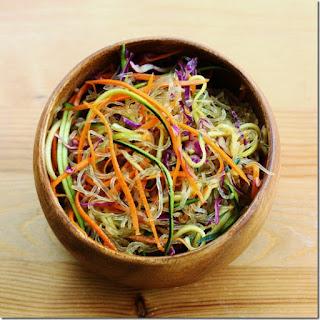 Vegan Tamarind Noodle Bowl (vegan, gluten free if you use tamari or coconut aminos)