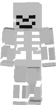 just like skeleton of coolness and wither skeleton of coolness, but it is a player skin, add this to your texture pack, so that when you are using another skin, you turn into a skeleton when you die!