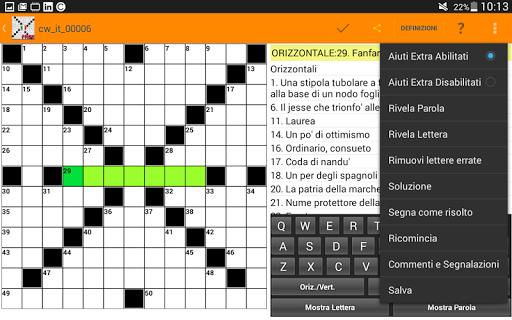 Cruciverba in Italiano gratis 3.7.6 screenshots 19