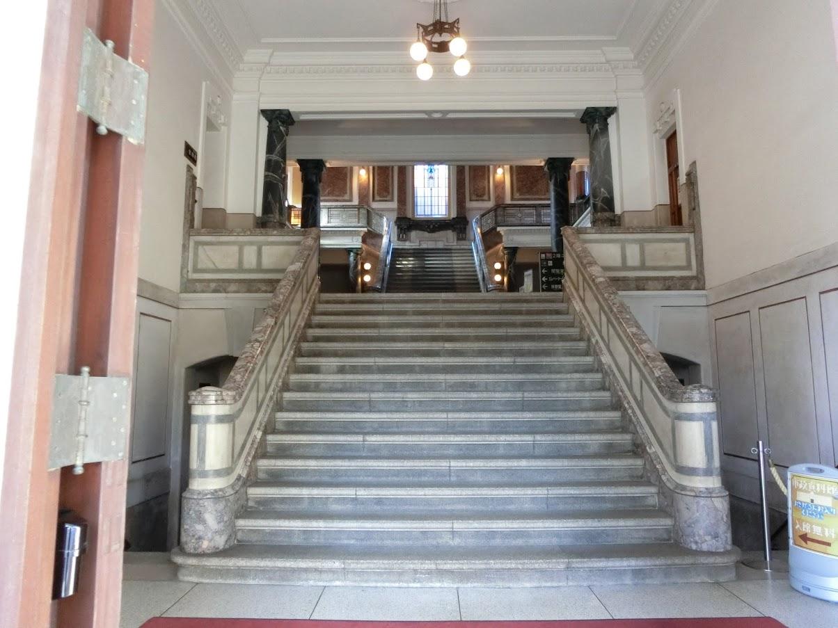 名古屋市市政資料館正面玄関