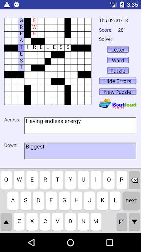 Daily Crosswords 2.0 Mod screenshots 1