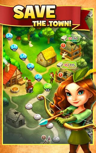 Robin Hood Legends u2013 A Merge 3 Puzzle Game 2.0.2 screenshots 2