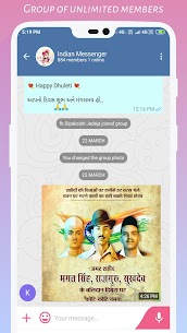 Indian Messenger Mod Apk- Indian Social Network-Indian Chat 4