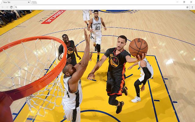 Stephen Curry NBA New Tab