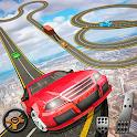 Impossible Tracks Car Mountain Climb Stunts Racing icon