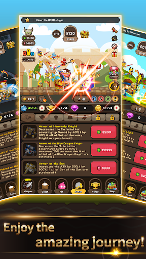 Cash Knight - Finding my manager ( Idle RPG ) screenshot 4