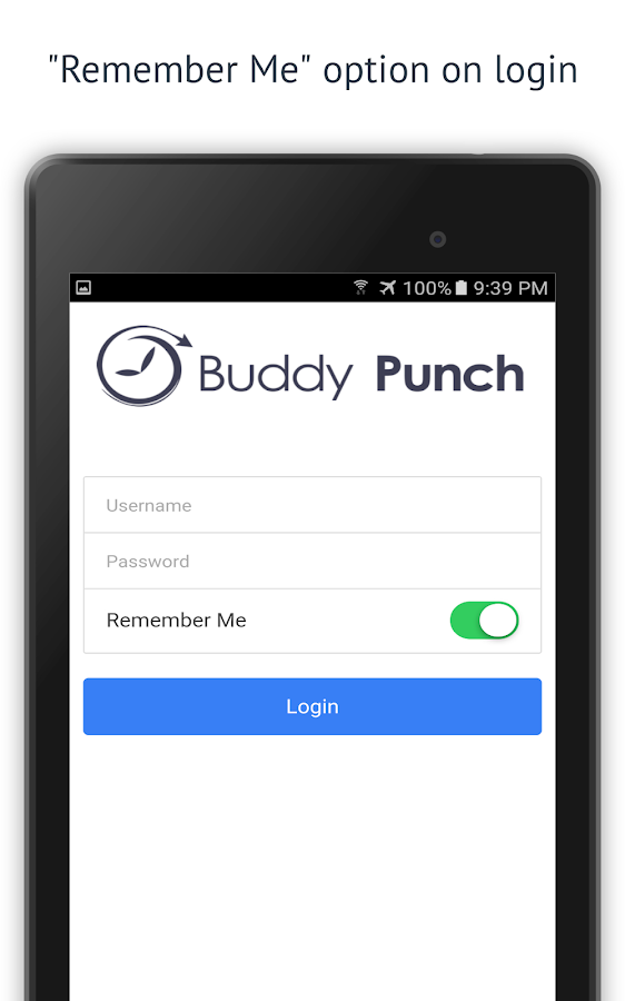 Buddy Punch Time Clock- screenshot