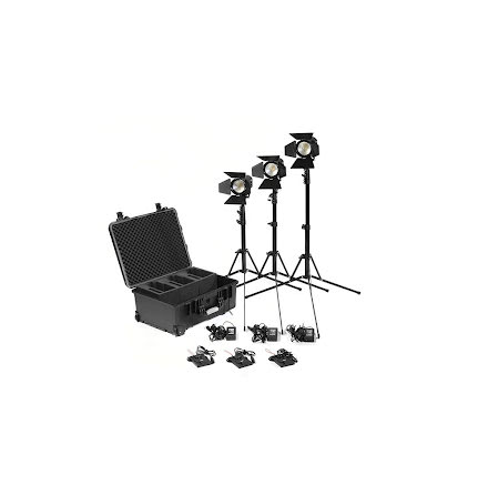 Practilite 602 Three-Light KIT w/V-Mount