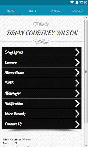 Brian C Wilson Lyrics