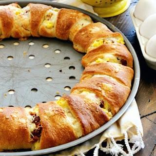 Crescent Roll Breakfast Eggs Recipes