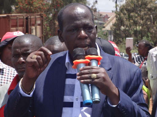 Juja MP Francis Munyua.