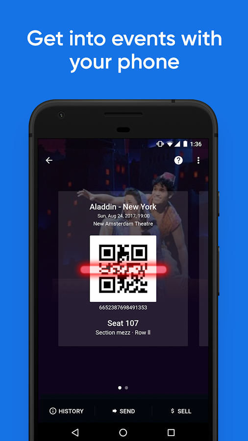 SeatGeek – Tickets to Sports, Concerts, Broadway- screenshot