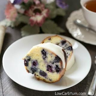 Lemon Blueberry Pound Cake Recipe - Gluten Free Recipe