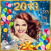 New Year 2019 Frame - New Year Greetings 2019