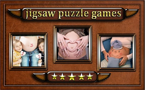 pregnant woman belly Jigsaw Puzzle game 7