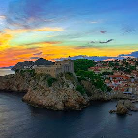 Dubrovnik, Croatia by Silvana Schevitz - Travel Locations Landmarks
