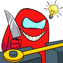 Brain Imposter Teaser: Tricky Puzzles icon