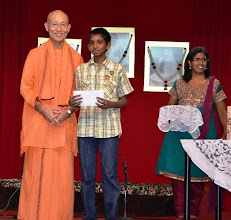 Photo: Award Receipient for the PSLE category - Ramanathan