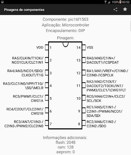 Electronic Component Pinouts Free 12.0 screenshots 11