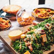 Family Size Kale Caesar Salad