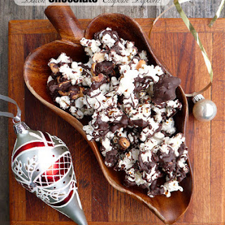 Bacon Chocolate Chipotle Popcorn