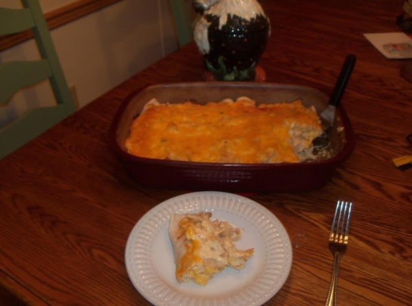 Sour Cream Enchilada Recipe