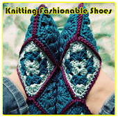 Knitting Fashionable Shoes