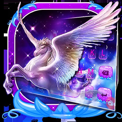 Dreamy Wing Unicorn Keyboard Theme Icon