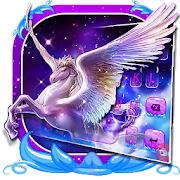 Dreamy Wing Unicorn Keyboard Theme