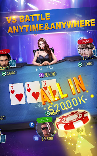 JYou Poker - Texas Holdem Poker  captures d'u00e9cran 2