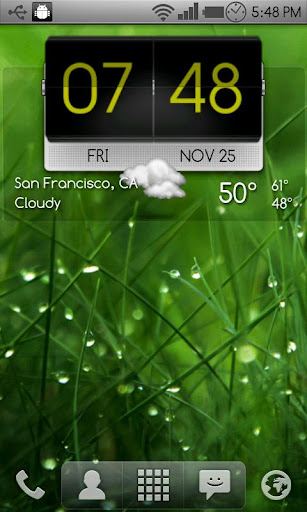 3D Flip Clock Theme Pack 03 screenshot 6