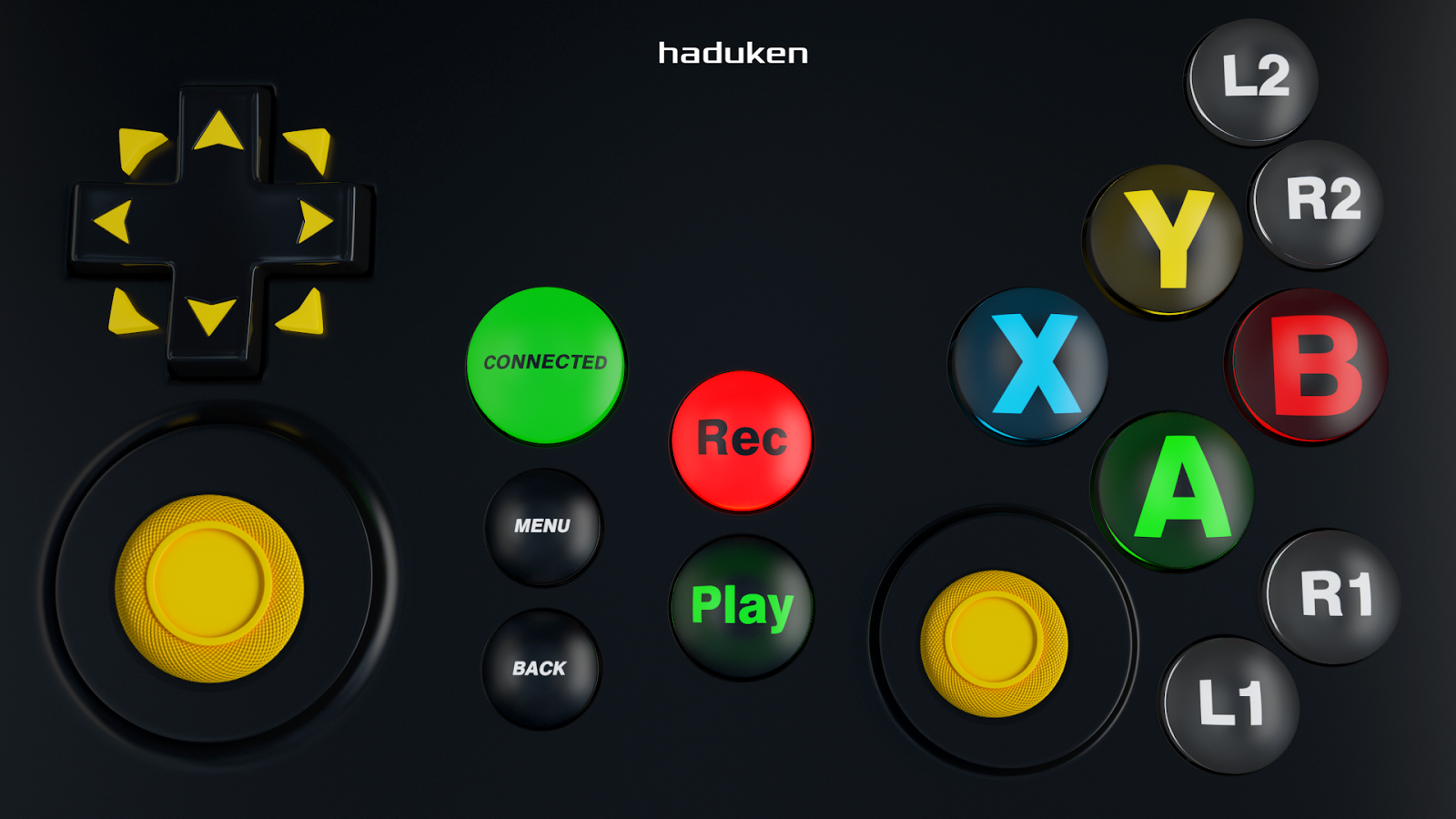 Gamepad Joystick MAXJoypad- screenshot