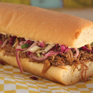 Slow-Cooked Cochon de Lait Po'Boy