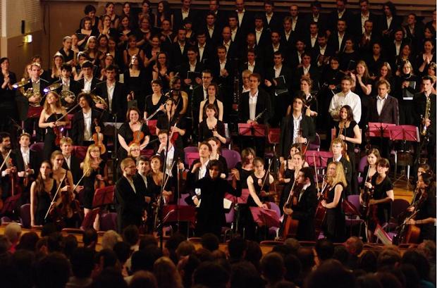 Choeurs et Orchestres des Grandes Ecoles 2015 au profit de L'Arche