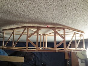 Photo: All the cross bracing is attached to the sides tongue and groove style.